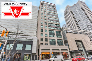 2 Bedroom + 2 Bath Condo! Live In The Heart Of Yorkville!