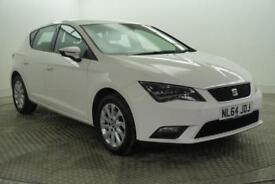 2014 SEAT Leon TDI SE TECHNOLOGY Diesel white Manual
