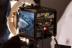 Paul C Buff Alienbees B400 & 24x36 Softbox