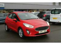 Ford Fiesta Zetec 1.0L 100PS EcoBoost in Race Red + Nav, Cruise, Air Con, DAB