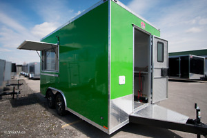 Be your own Boss! Own a custom food trailer today!
