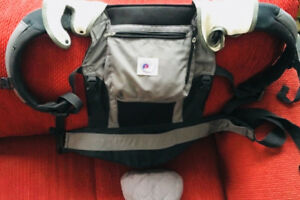 Ergo baby carrier with bonus features