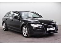2014 Audi A6 AVANT TDI ULTRA S LINE Diesel black Semi Auto