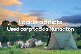 WANTED Carp fishing tackle set up 2 or 3 rod for sale  Nuneaton, Warwickshire
