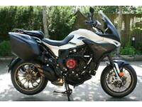 MV AGUSTA TURISMO VELOCE LUSSO SCS WHITE/GREY SMART CLUTCH SYSTEM MY20