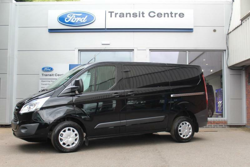 new ford transit custom 2 2tdci 125ps 270 l1h1 trend black 230v led onsite in hinckley. Black Bedroom Furniture Sets. Home Design Ideas