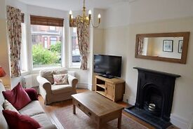 Beautiful 3 bed period semi with large garden in Cheadle Heath. Great amenities/transport links.