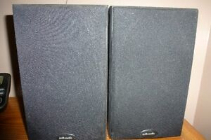 speakers for sale poke audio 100 mint shape 100watz per side Cambridge Kitchener Area image 1