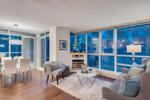 2 Bedroom Corner Suite in Coal Harbour