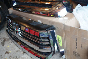 Chrome Toyota Tundra 1794 Edition Grill