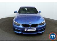 2017 BMW 4 Series 420d [190] M Sport 2dr [Professional Media] Coupe Diesel Manua