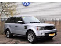 2010 Land Rover Range Rover Sport 3.0 TD V6 SE 5dr Diesel silver Automatic