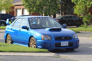2004 Subaru Impreza WRX STi Sedan - NO ACCIDENTS