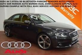 2010 Audi A4 2.0TDIe (136ps) SE-BLUETOOTH-PARK SENSORS-F.A.S.H.-BEST COLOUR-