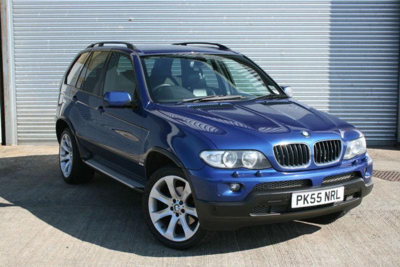 2005 bmw x5 3 0d auto le mans blue sport edition united. Black Bedroom Furniture Sets. Home Design Ideas