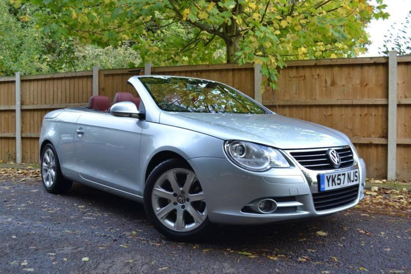 2007 57 volkswagen eos 2 0 fsi 43000 miles 151 a month 0 deposit in clacton on sea essex. Black Bedroom Furniture Sets. Home Design Ideas
