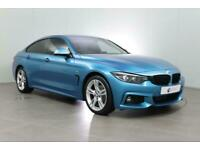 2018 BMW 4 Series 420D M Sport Gran Coupe hatchback Diesel Manual
