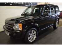 2008 58 LAND ROVER DISCOVERY 3 2.7 3 TDV6 HSE 5D AUTO 188 BHP DIESEL