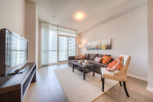 Luxury Furnished Condo in the City Heart Steps from Union