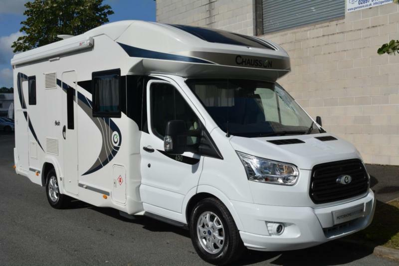 88300851b1 2017 CHAUSSON 630 FLASH AUTOMATIC MOTORHOME FOR SALE