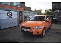 2012 Mitsubishi Outlander 2.2 Diesel Manual GX1 4Work DI-D 4x4 Orange 5 seater