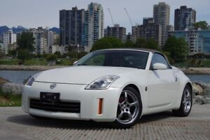 2008 Nissan 350Z Roadster Grand Touring Black Top 6sp