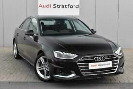 image for 2020 Audi A4 SALOON 35 TFSI Sport 4dr S Tronic Auto Saloon Petrol Automatic