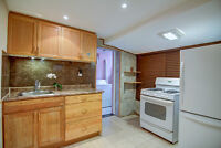 **Bsmt Exec-Finished Bachelor Studio @ St. Clair / Dufferin**