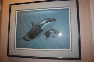 Mother and Sons Orcas by Ron Parker 266/950