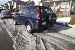 2004 Honda CR-V Blue SUV, Crossover