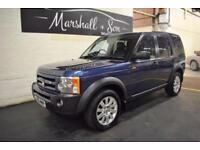 2006 56 LAND ROVER DISCOVERY 3 2.7 3 TDV6 SE 5D AUTO 188 BHP 7 SEATS DIESEL