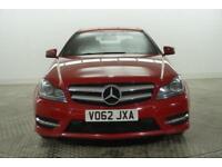2012 Mercedes-Benz C Class C220 CDI BLUEEFFICIENCY AMG SPORT PLUS Diesel red Aut