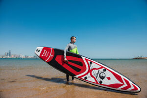 Planche à pagaie gonflable ISUP (inflatable stand up paddle)