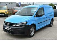 2016 Volkswagen Caddy Maxi C20 TDI STARTLINE NEW SHAPE BRITISH GAS LWB VAN AIR C