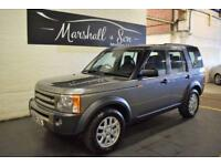 2008 08 LAND ROVER DISCOVERY 3 2.7 3 TDV6 XS 5D 188 BHP 7 SEATS DIESEL