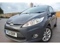 FORD FIESTA ZETEC 1.25 3 DOOR*LOW MILEAGE*ONLY 32,000 MILES FROM NEW*ALLOYS*AC*