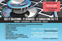 DCETechnology IT Consulting -Dépannage informatique West Island