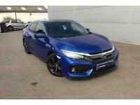 2019 Honda Civic Prestige Vtec Cvt Auto Hatchback Petrol Automatic