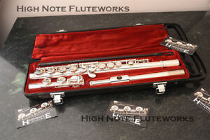 Yamaha 225S Flute -Freshly repadded and serviced. Ready to play!