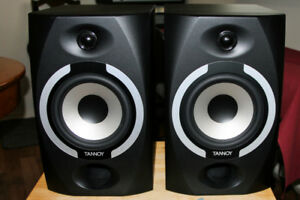 Tannoy Reveal 601a Powered Studio Monitors