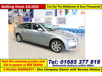 2010 - 60 - AUDI A4 AVANT 2.0TDI 5 DOOR ESTATE (GUIDE PRICE)
