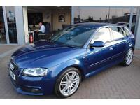 Audi A3 SPORTBACK TDI S LINE. VAT QUALIFYING