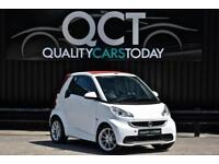 2012 Smart ForRwo 1.0 MHD Passion ( 71bhp ) Softouch Cabriolet Convertible