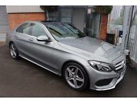 Mercedes C220 BLUETEC AMG LINE PREMIUM WITH PAN ROOF