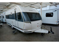 2014 Hobby 560 FFE De-Luxe Touring Caravan with Island Bed