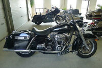 """HARLEY POLICE ROAD KING  WITH STROKER 103"""" MOTOR"""
