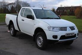 Mitsubishi L200 2.5DI-D 4WD Club Cab 4Work 63 Reg (Jan 14) £9,495 + VAT