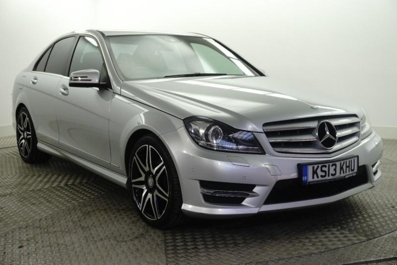 2013 Mercedes-Benz C Class C250 CDI BLUEEFFICIENCY AMG SPORT PLUS Diesel silver
