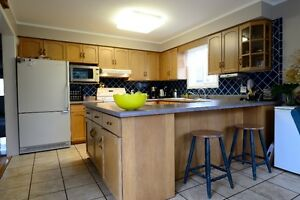 Kitchen Cabinets-Complete Set, Bleached Maple, Very Good Cond. Kitchener / Waterloo Kitchener Area image 1