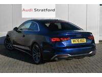 2020 Audi A5 COUPE 40 TFSI S Line 2dr S Tronic Auto Coupe Petrol Automatic